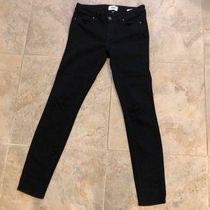 Black skinny Paige jeans